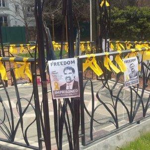 llaços groc Argentina, Buenos Aires / Latinos por la República