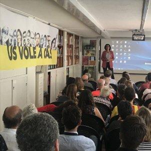 Marta Rovira celebra Diada 2018 a Lausana