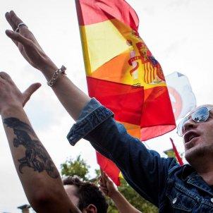 manifestació espanyolista / EFE