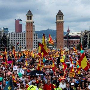 manifestacio unionista barcelona efe