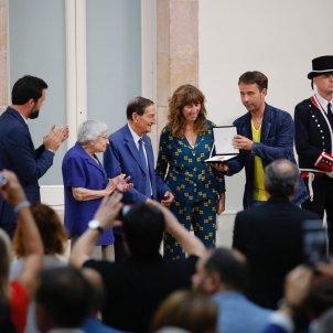 medalla parlament rosa sensat S Alcàzar