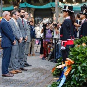 EL NACIONAL ofrena floral Diada 2018 Mesa Parlament  Sergi Alcàzar