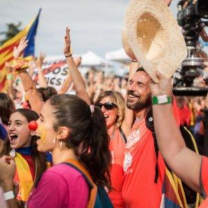 diada 2018 11 setembre estelades felicitat (qualitat bona) - Carles Palacio