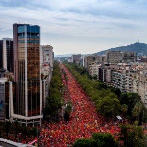 Diada 2018 Diagonal 11S Independencia - Efe