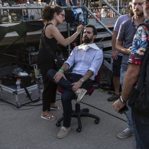 Maquillatge Roger Torrent TV3 - Sergi Alcàzar