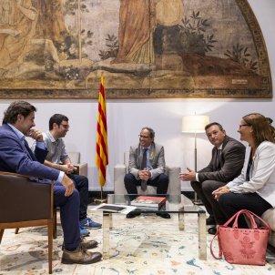 Reunió Torra amb AMI Josep M Cervera - Sergi Alcazar