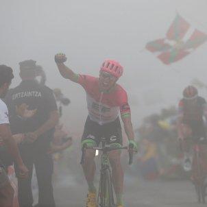 Michael Woods Vuelta Espanya Ciclisme boira EFE