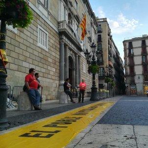 Acampada Plaça Sant Jaume   Alba Domingo