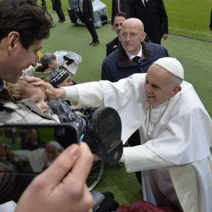 Papa Francesc a Malmö (Suècia) 20161101 (Jonas Ekstroemer EFE)