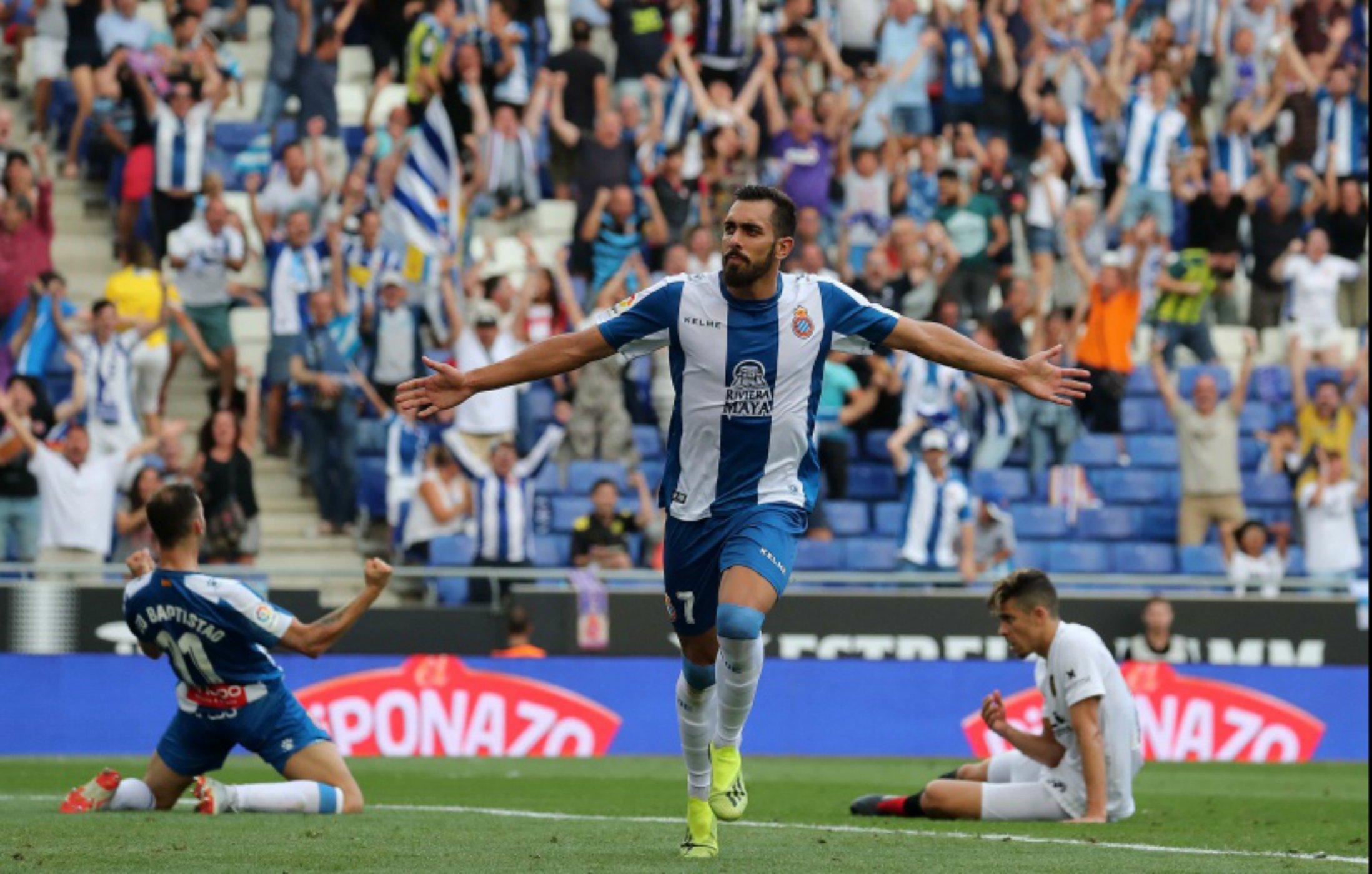 Borja Iglesias gol   Espanyol