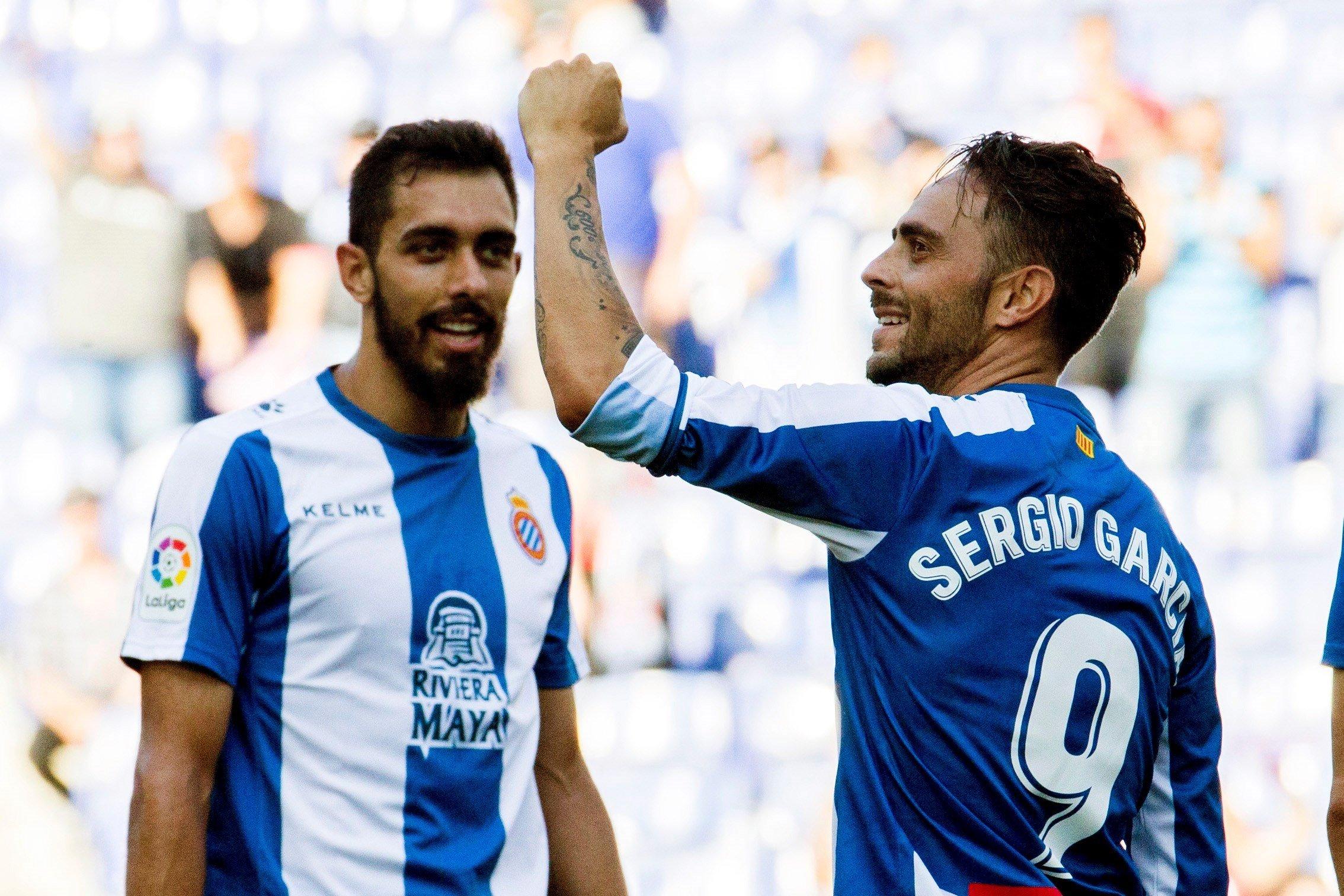 Sergio García gol Espanyol Llevant EFE