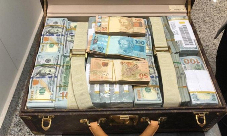 maleta teodorín guinea equatorial receita federal brasil