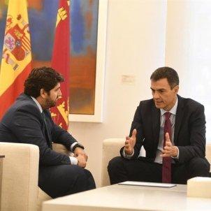 Fernando López Miras - Pedro Sánchez - Europa Press