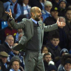 Pep Guardiola Manchester City Barça Champions League Efe