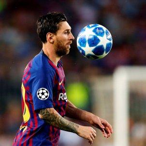 Leo Messi Barça PSV Champions EFE