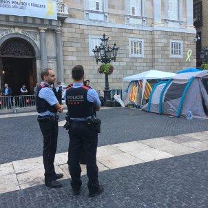 Acampada per la Llibertat Sant Jaume - Sergi Alcàzar