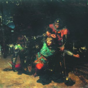La muerte del Rey Don Pedro I de Castilla