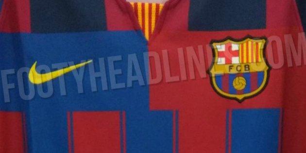 Fotos  El diseño (horroroso) de Nike para la camiseta exclusiva del Barça a9004acfa0d