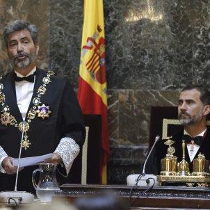 Lesmes Rei Felip VI Any judicial 2017 jutges EFE