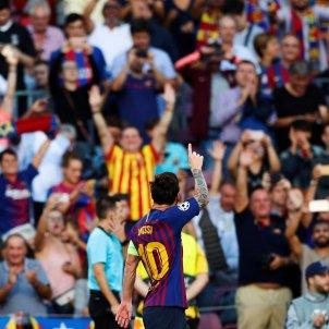 Leo Messi Barça PSV   EFE