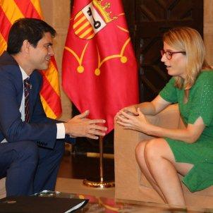 Elsa Artadi Marc Castells Diputacio Barcelona ACN