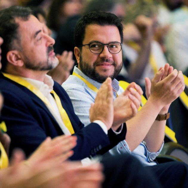 Pere Aragonès Consell Nacional Erc - Efe