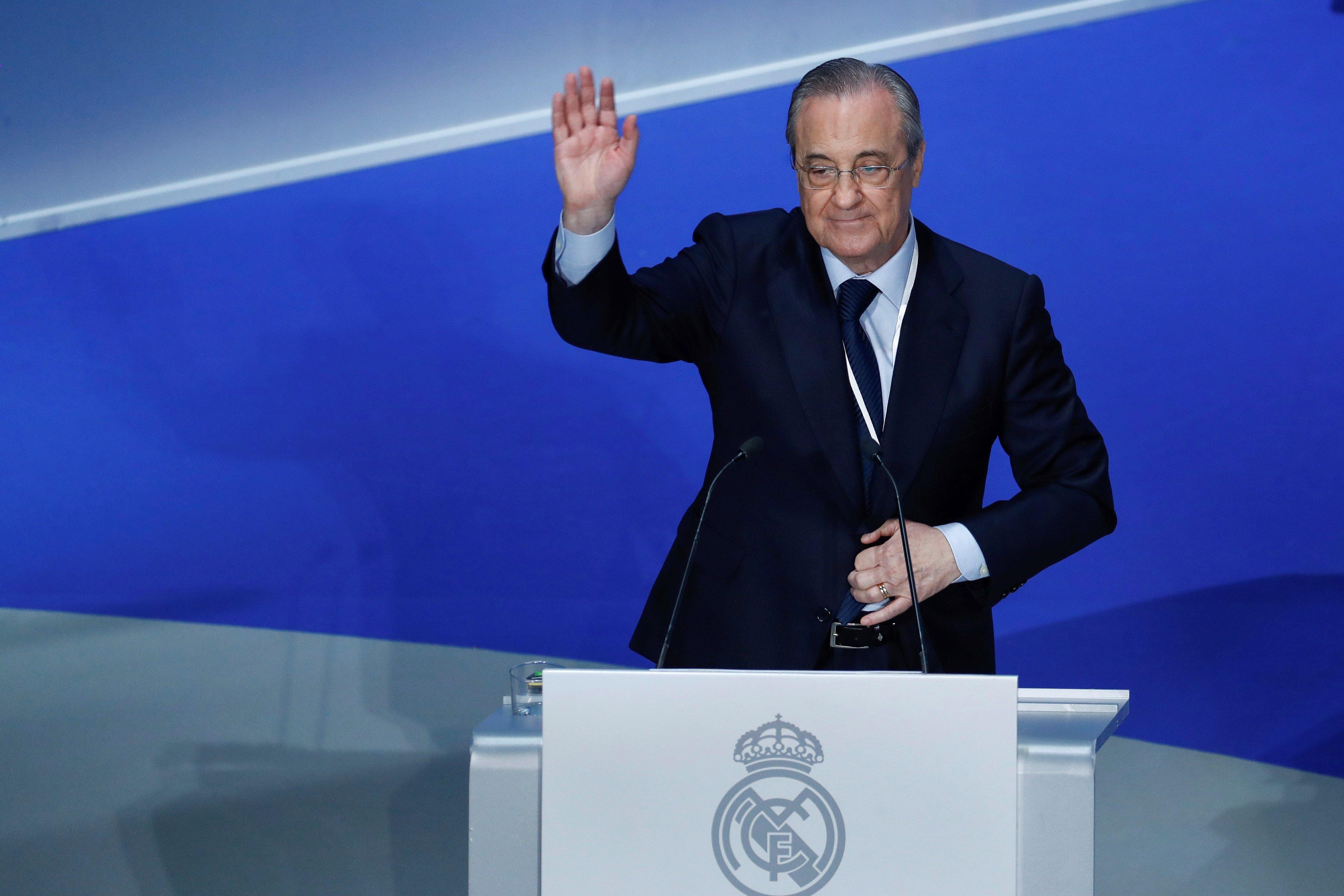 Florentino Pérez Assemblea Madrid socis   EFE