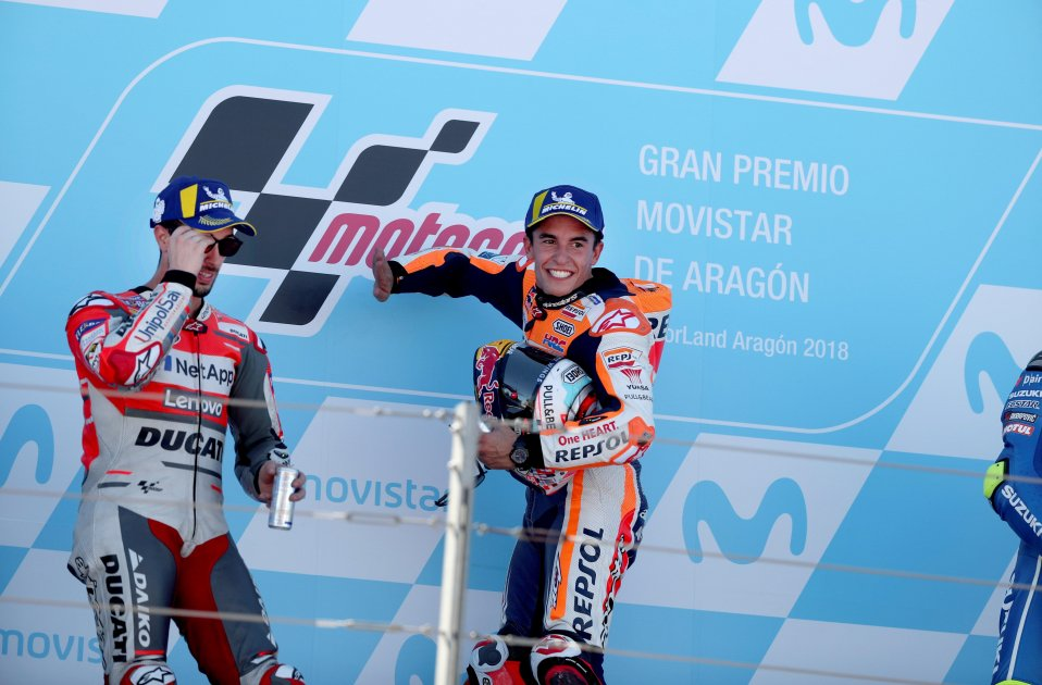 Marc Márquez Aragó MotoGP EFE