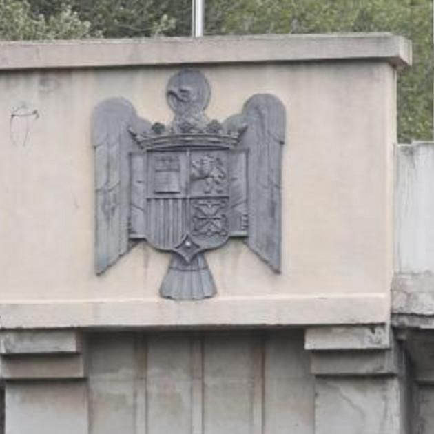 Aguila Franquista Pont De L'aigua Acn