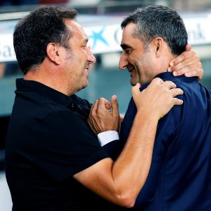 Eusebio Valverde Barça Girona EFE