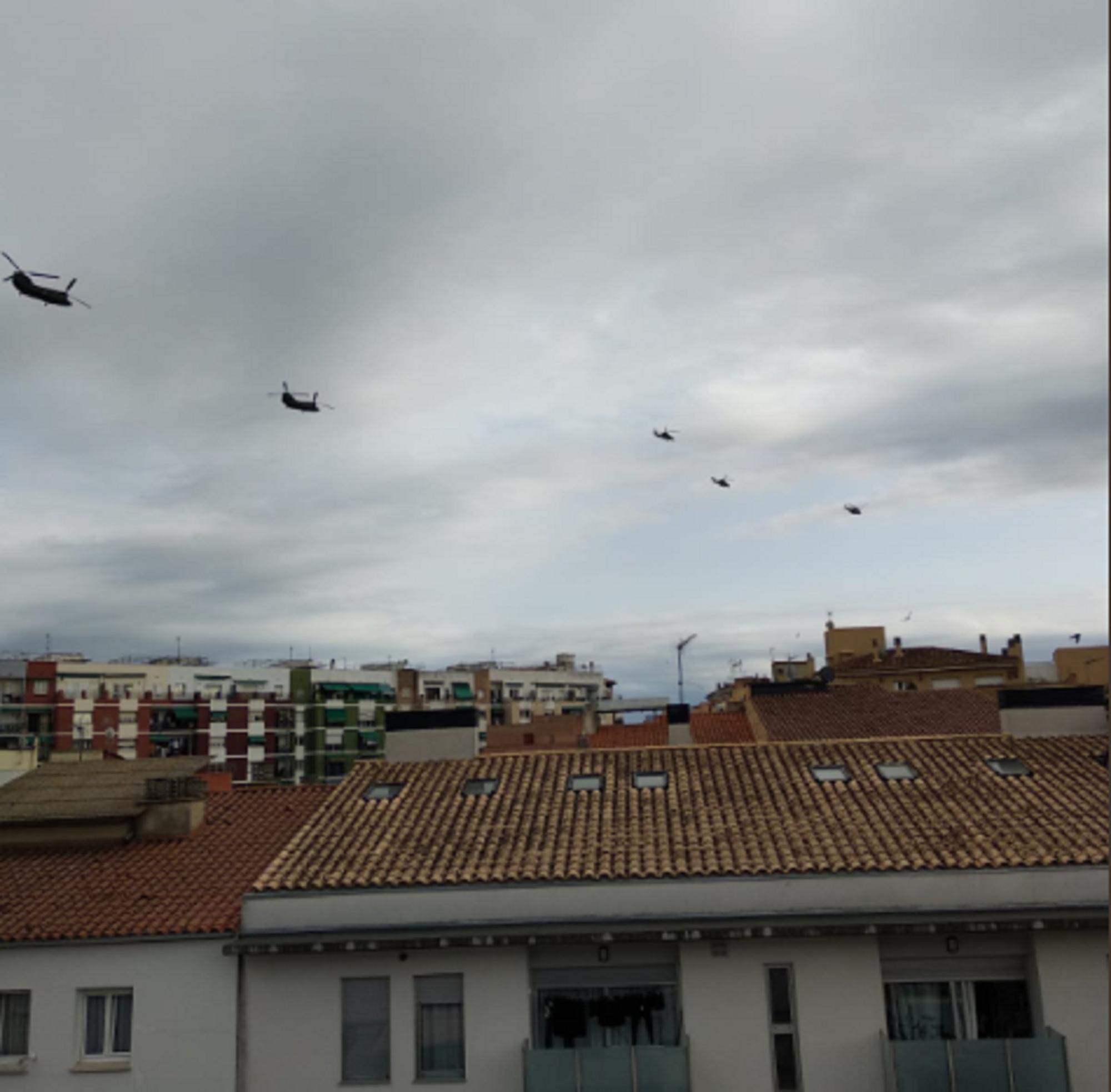 Helicopters militars girona   @OvisLupus