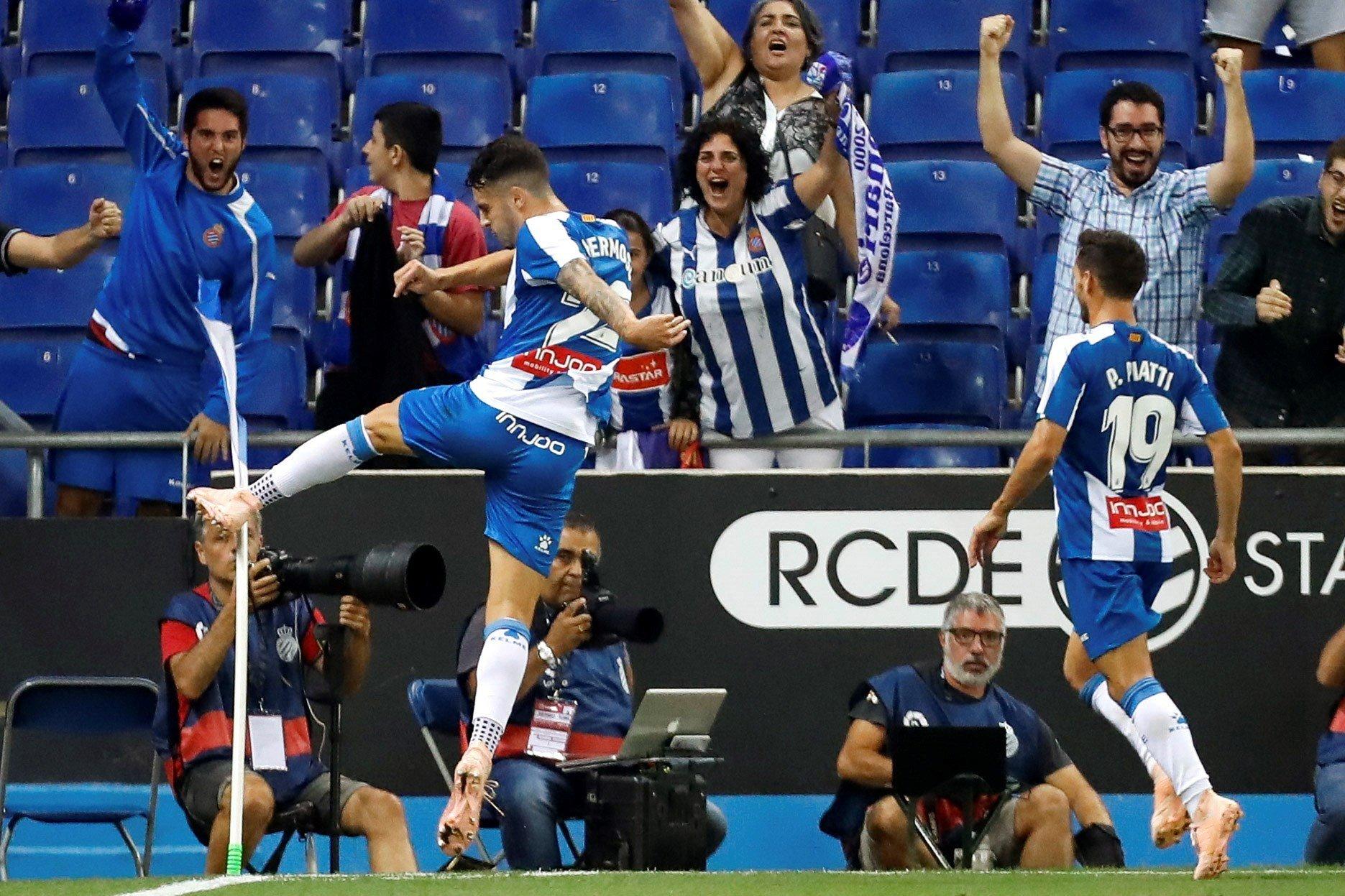 Gol Mario Hermoso Espanyol Eibar   EFE