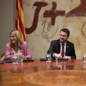 Aragonès i Artadi van tancar a Canonges la crisi al Parlament que amenaçava el Govern