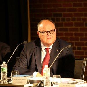 El director de la Fundació Abertis, Sergi Loughney, durant la presentació EFE