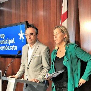 La candidata del PDeCAT a l'Alcaldia de Barcelona, Neus Munté Europa Press