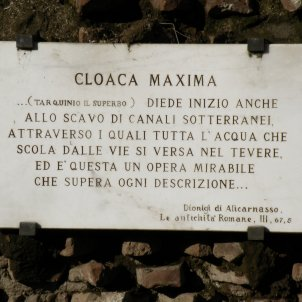 Cloaca Maxima, Roma (Pedro Cambra)