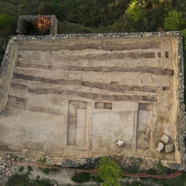Fosa del Soleràs, la més gran excavada a Catalunya
