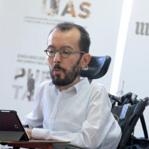 Pablo Iglesias Pablo Echenique Podemos Efe