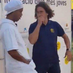 Ronaldinho Puyol   Captura