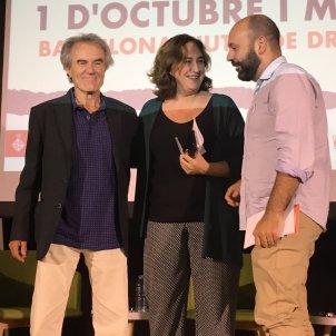 Pérez Royo, Ada Colau i Marcel Mauri /G.R