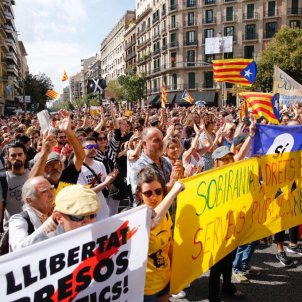 Manifestació CDR aniversari referèndum   Sergi Alcàzar