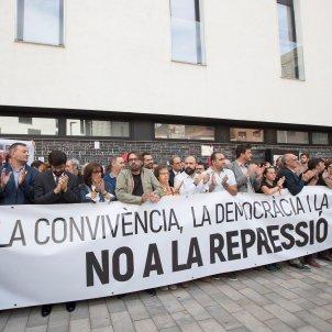 Sindicats Torra, Torrent, Colau 1-O - EFE
