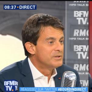 Manuel Valls BFMTV