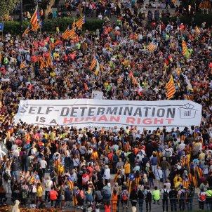 manifestació 1 any 1-O Sergi Alcàzar