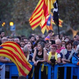 ELNACIONAL manifestació aniversari 1-O Parlament Sergi Alcàzar