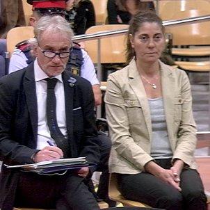 Els pares de la Nadia declaren davant l'Audiència de Lleida