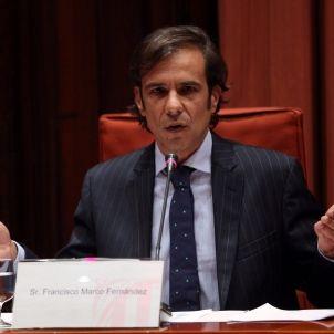 Francisco Marco a la comissió contra la corrupció