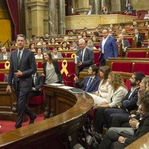 Sortida PP i C's Parlament hemicicle - Sergi Alcàzar