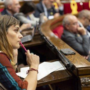 Debat Parlament Jessica Albiach - Sergi Alcazar