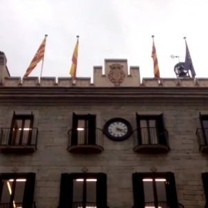 Girona bandera espanyola